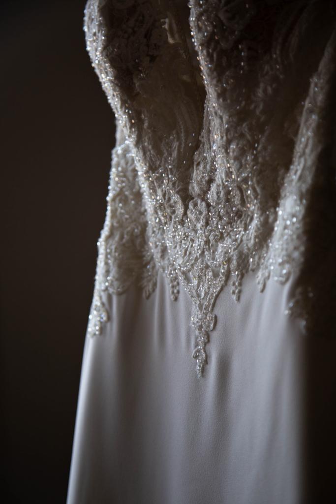 Details de la robe