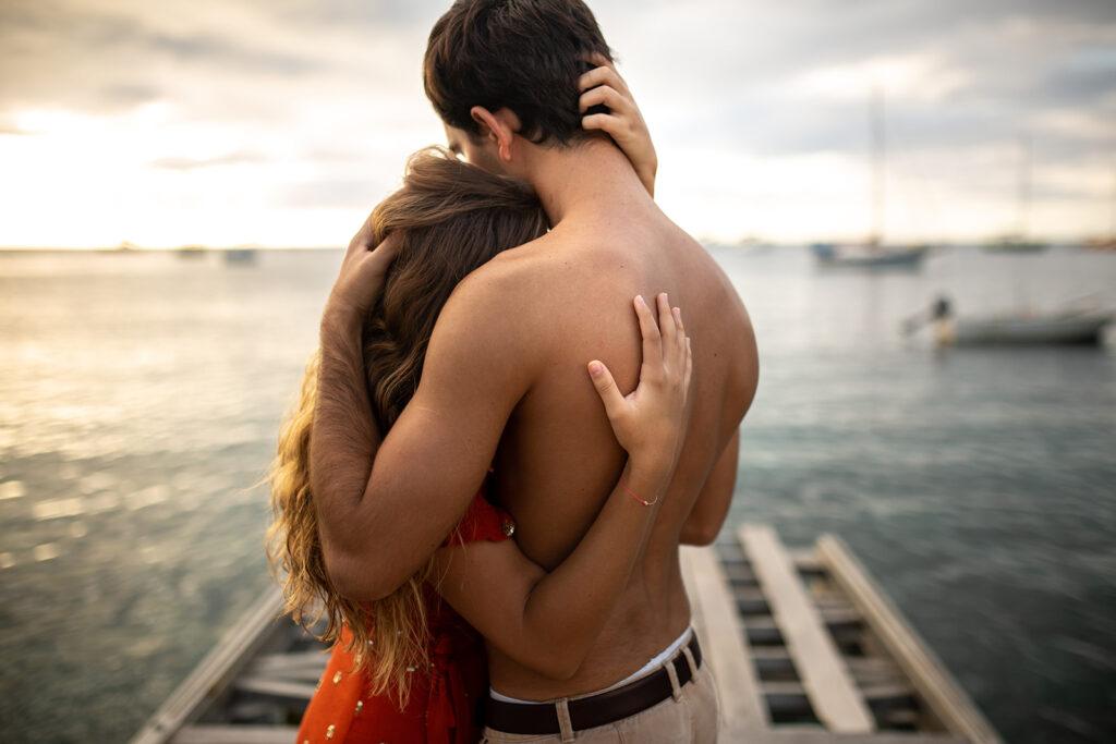 Photo de couple en extérieur en Guadeloupe
