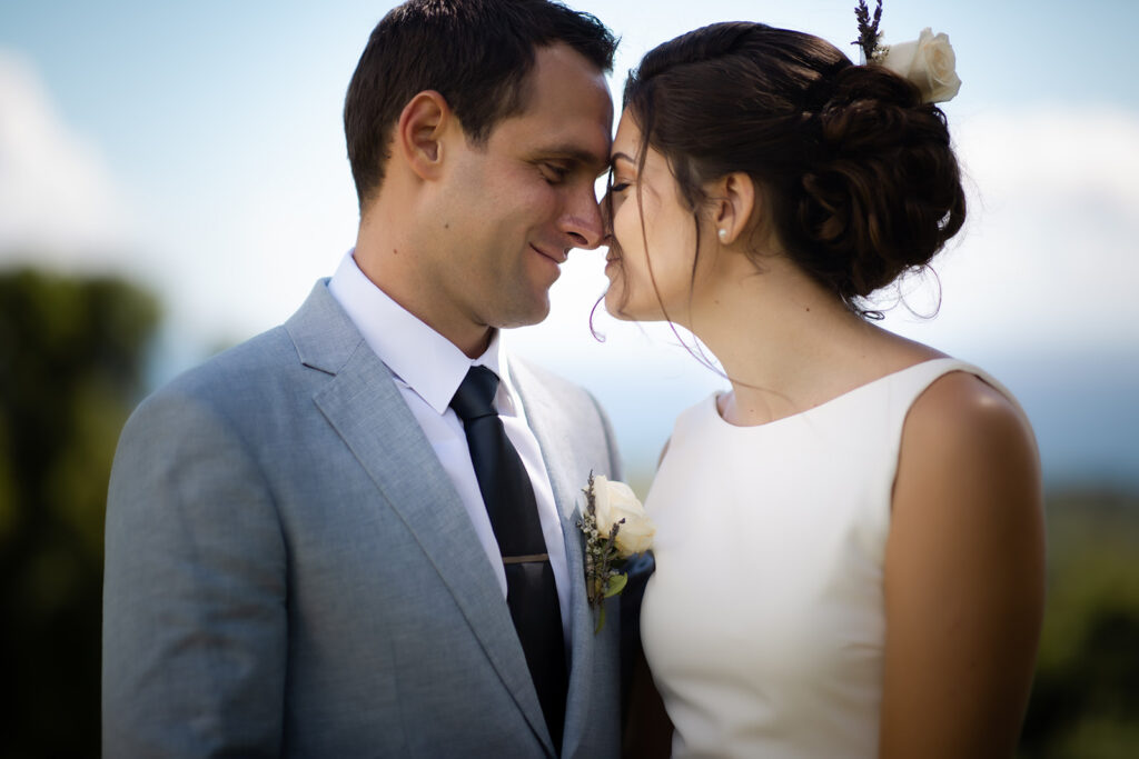 Photo de couple lors de leur Mariage Civil - TEXTE ALTERNATIF