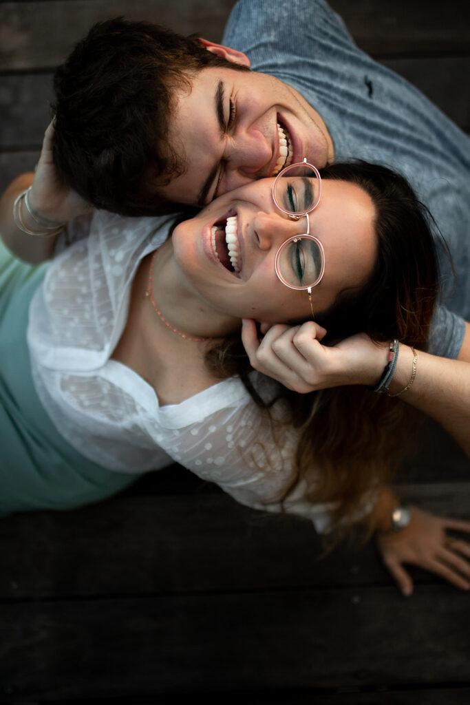 Photo de couple à domicile